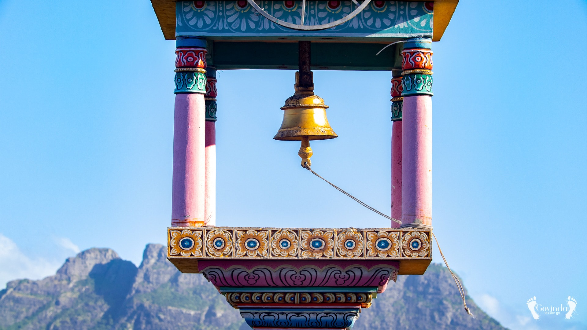 View from Vela Murugan Temple Mauritius