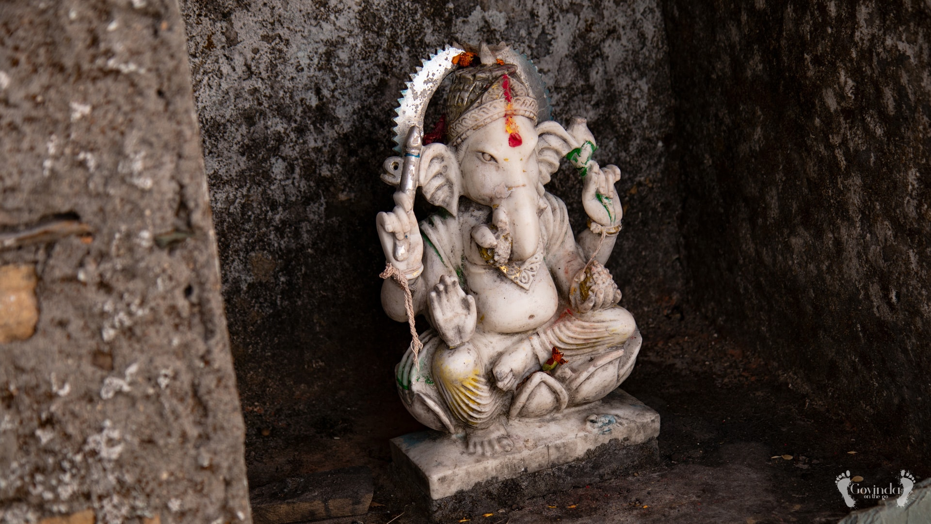 Ganesha at Ma Sukhadevi Mandir in Dunagiri