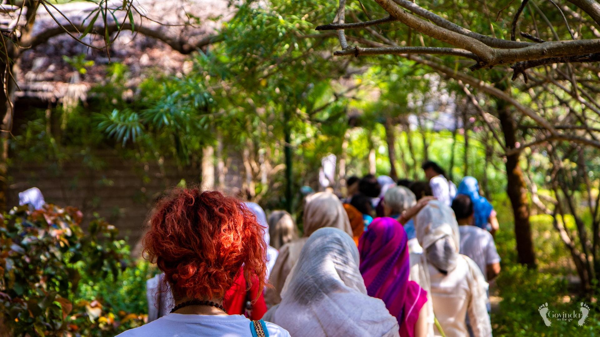 Japa walk in Lotus eco resort in Konark
