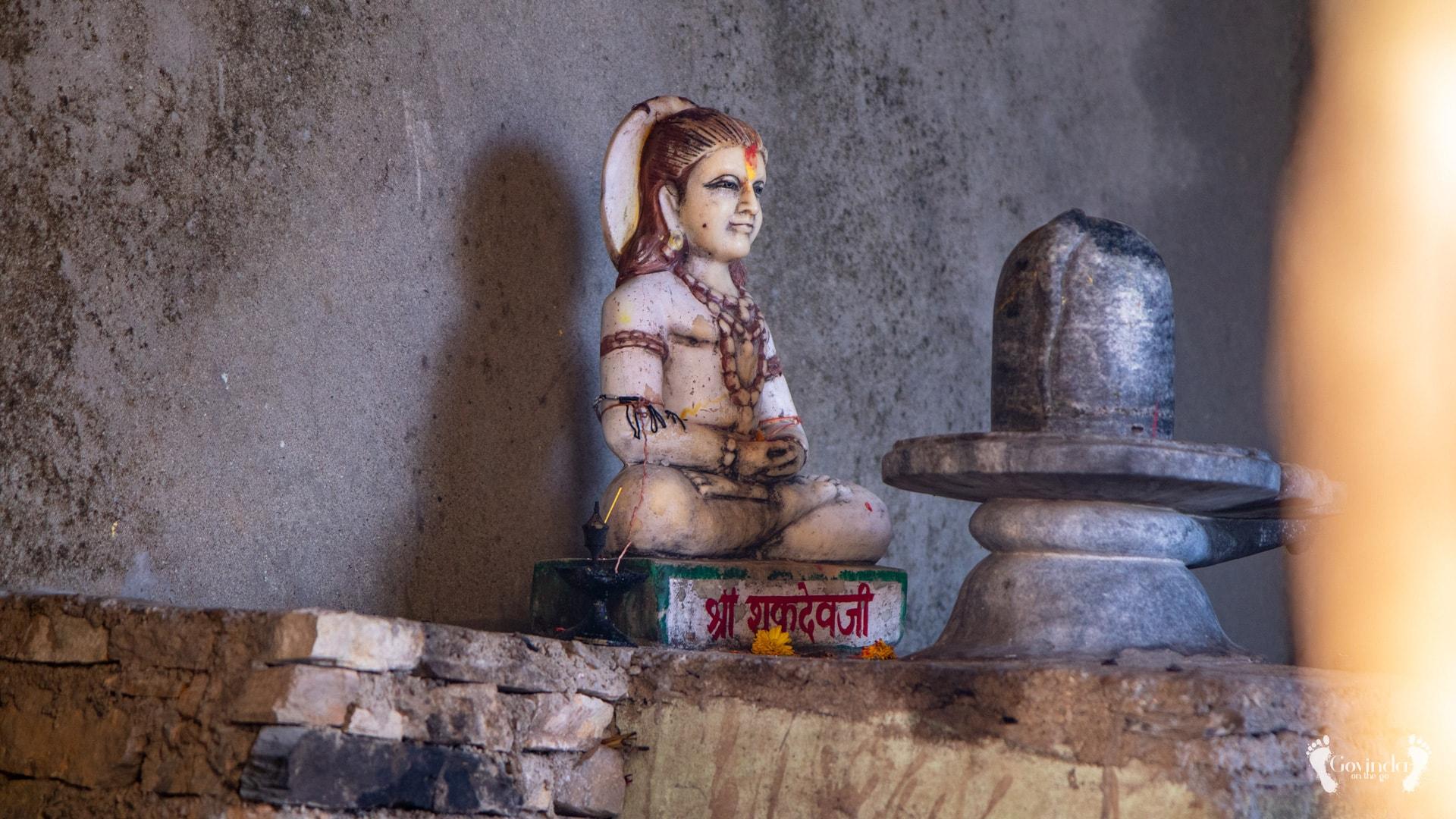 Lord Shiva in Ma Sukhadevi Mandir in Dunagiri