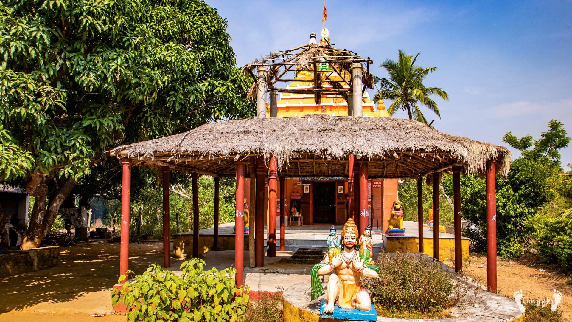 Panchamukhi Hanuman temple in Konark