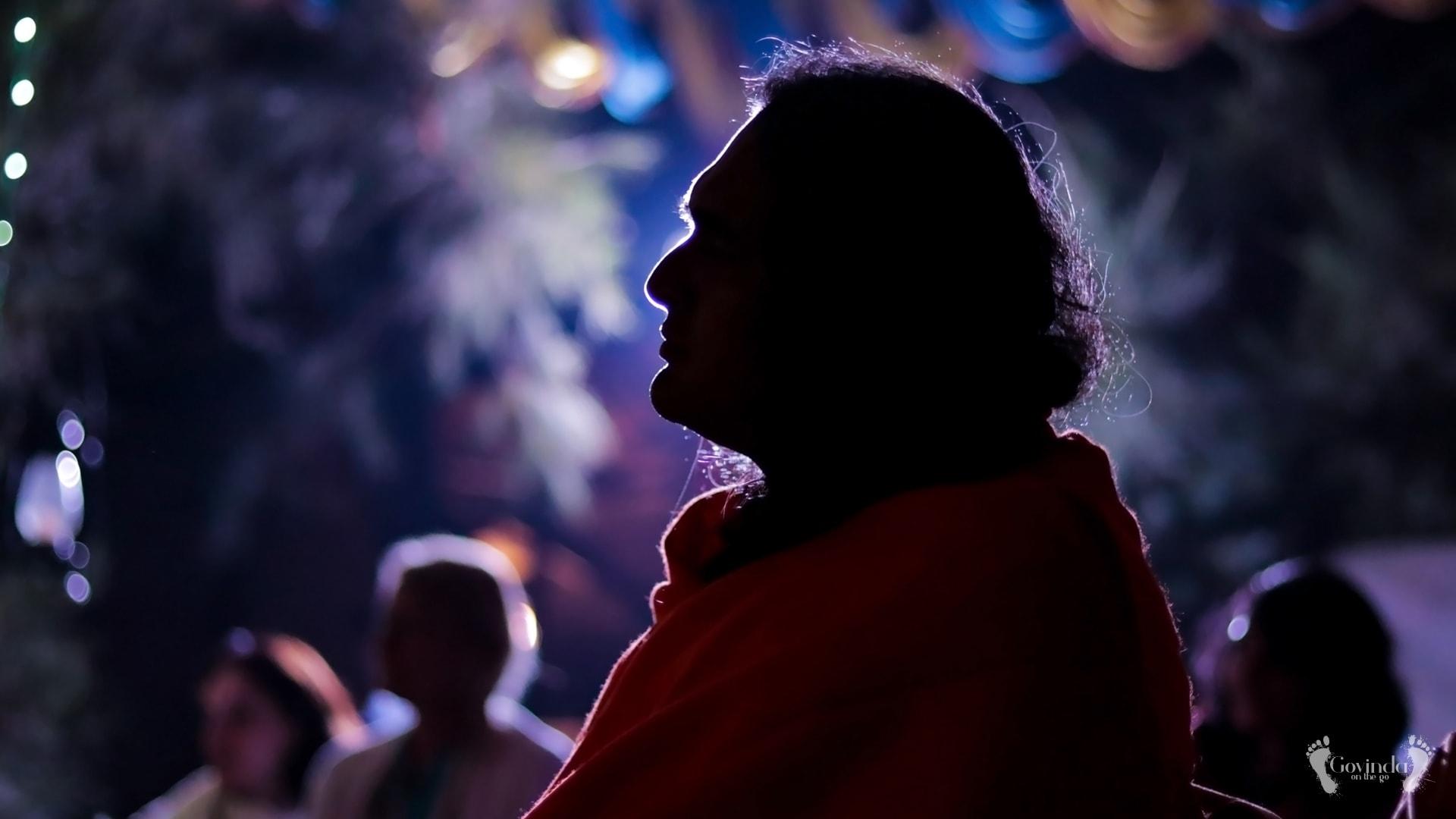 Paramahamsa Vishwananda during silent retreat in Puri