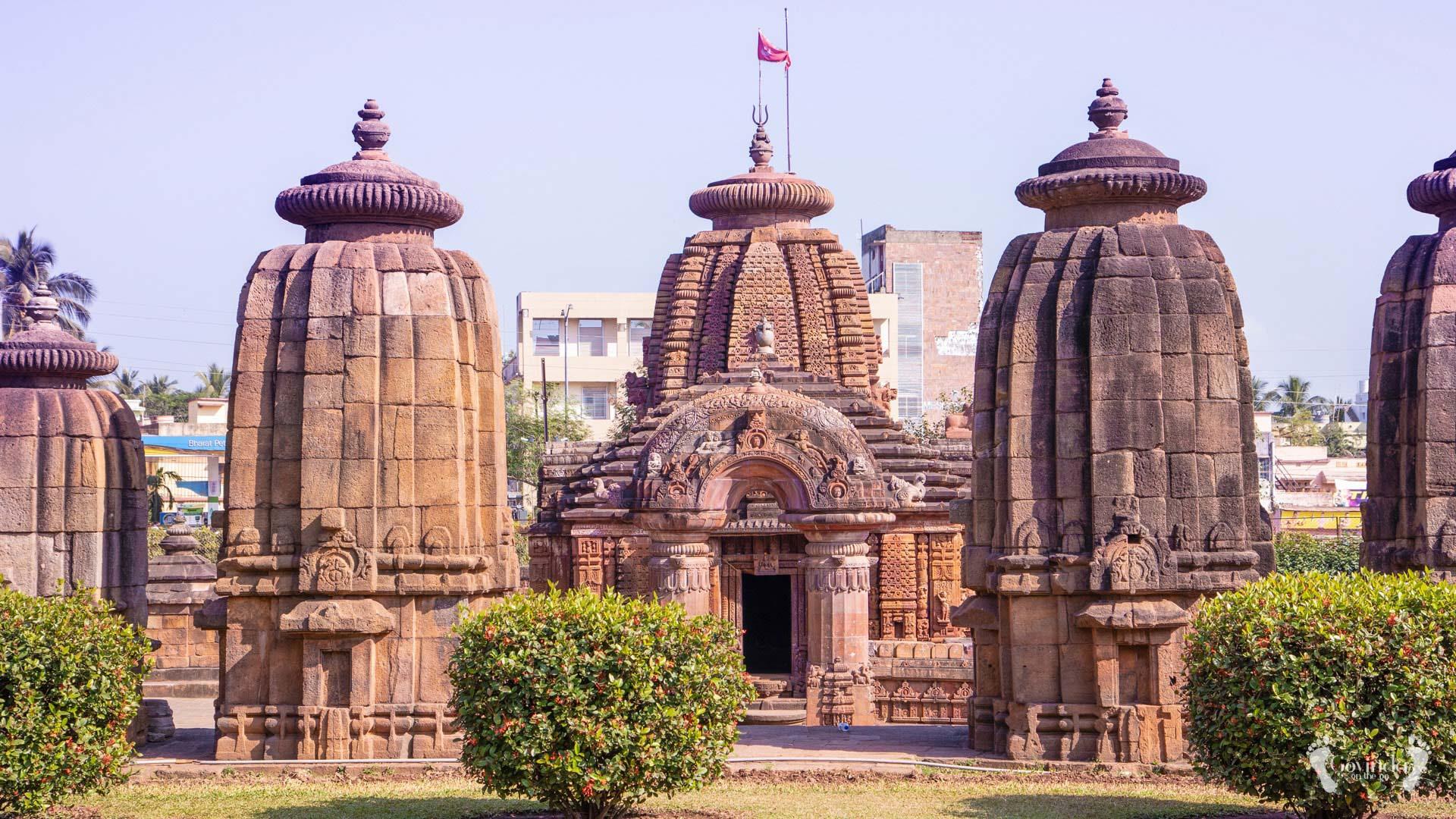 Shiva temple in Bhubaneswhar