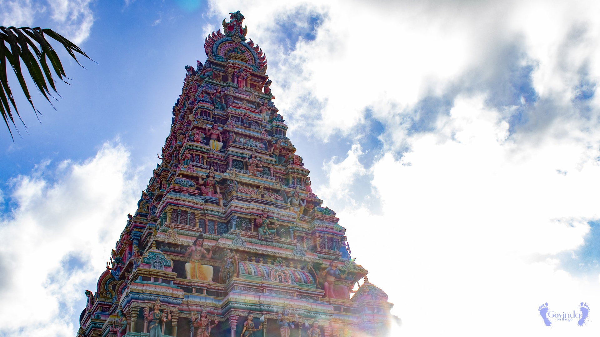 South Indian temple in Mauritius