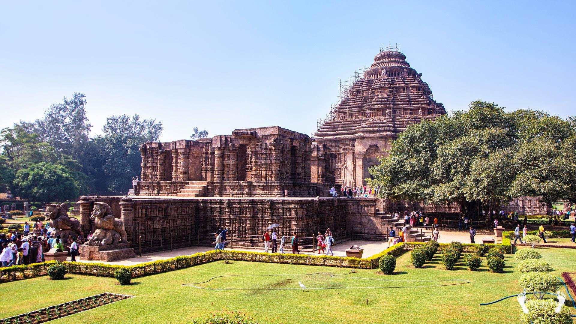 Surya Sun temple in Konark