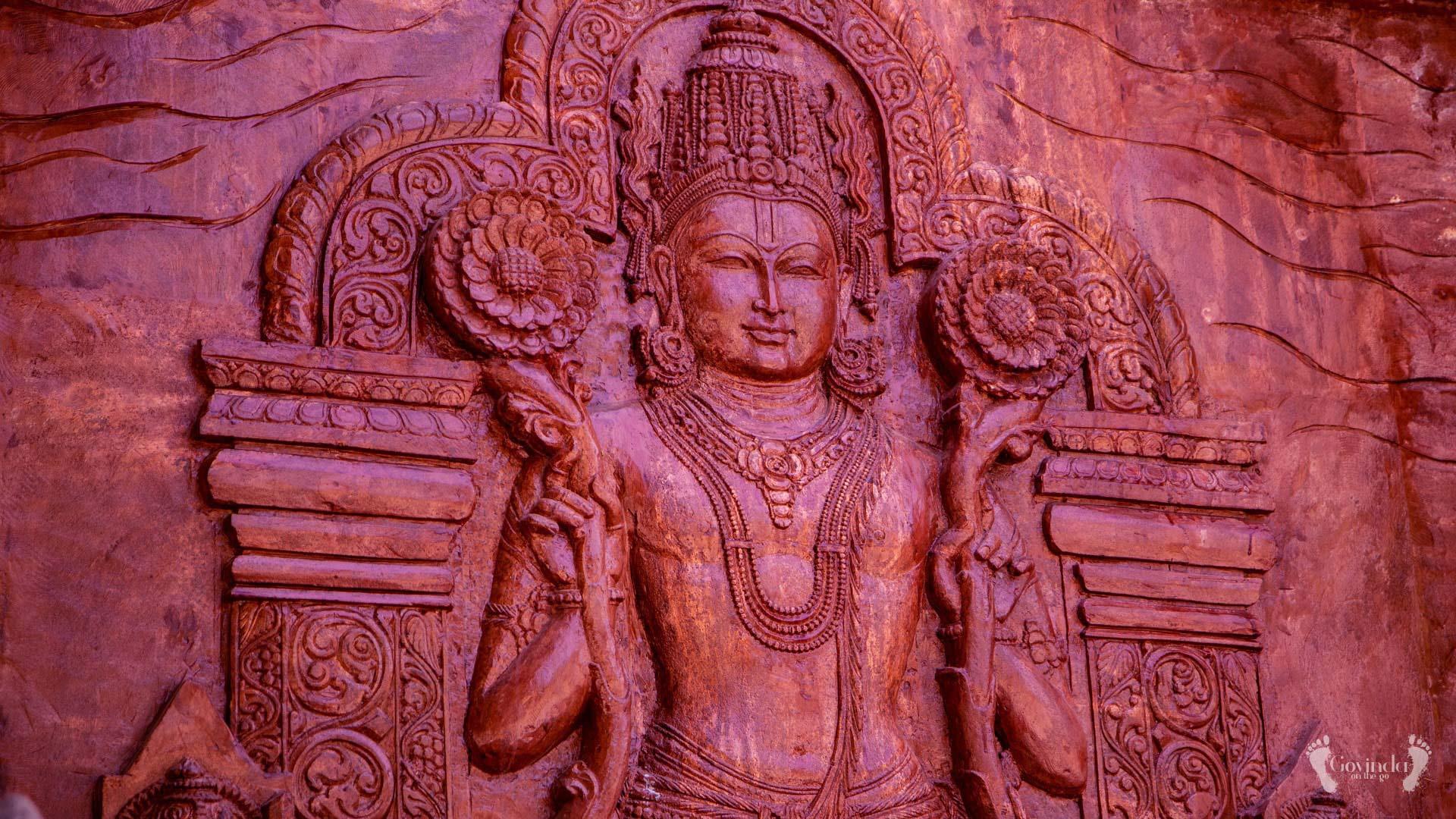 Wooden Suryadev in Konark temple