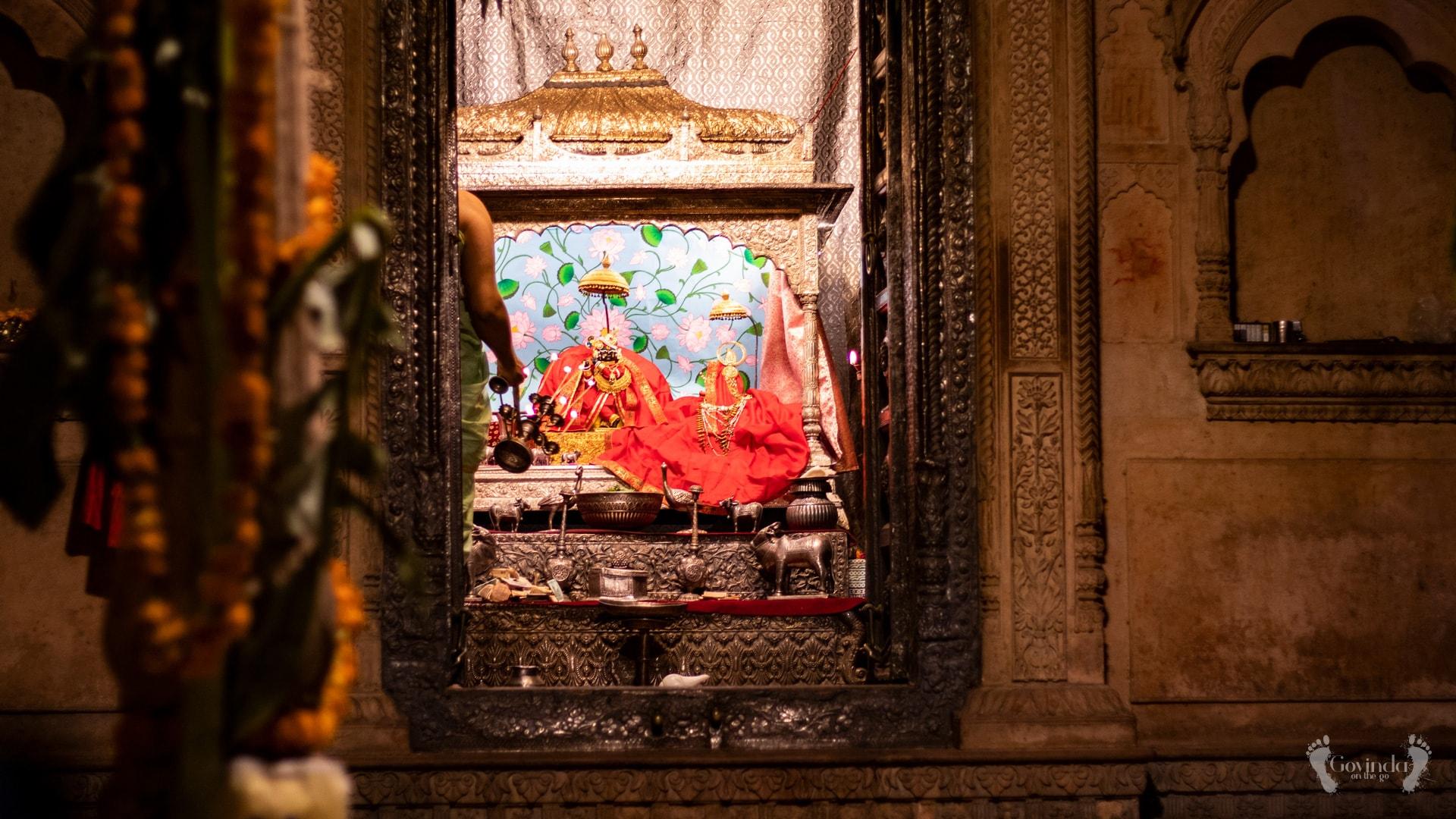 Radha Raman aarti in Vrindavan